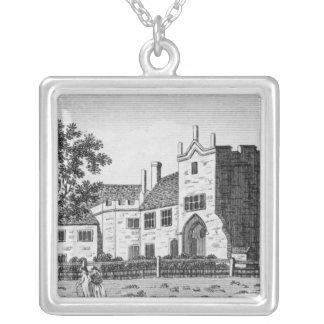 Dartford Priory, Kent Square Pendant Necklace