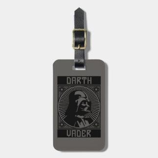 Darth Vader Badge A Travel Bag Tag