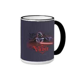 Darth Vader Character Art Ringer Mug