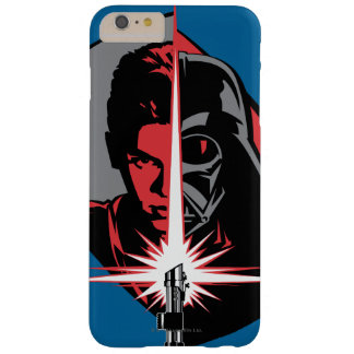 Darth Vader Half Face Barely There iPhone 6 Plus Case
