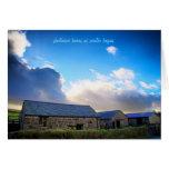 Dartmoor Barns blank notelet / card