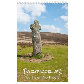 Dartmoor Calendar #2 (Medium A3)