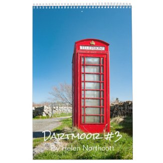 Dartmoor Wall Calendar #3 (A3 Medium)