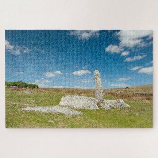 Dartmoor Marker Post Jigsaw Puzzle