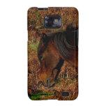 Dartmoor Pony In Bracken Late Summer Samsung Galaxy Cover