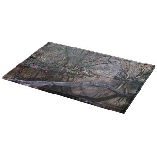 Dartmoor River Dart Holne Chase Autumn . 1 . Cutting Board
