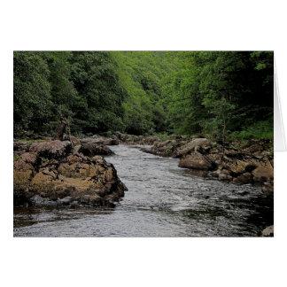 Dartmoor River Dart Rowbrook Card