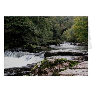 Dartmoor River Dart vally  Near Dartmeet Card