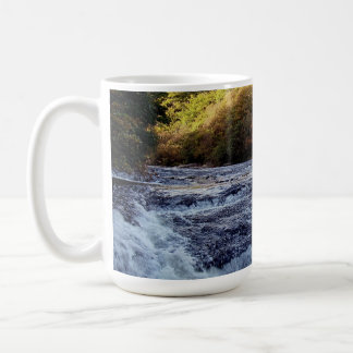 Dartmoor River Dart Vally Rowbrook Autunm Coffee Mug