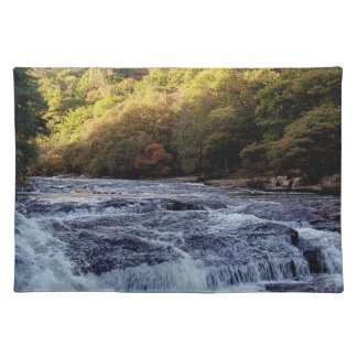 Dartmoor River Dart Vally Rowbrook Autunm Placemat