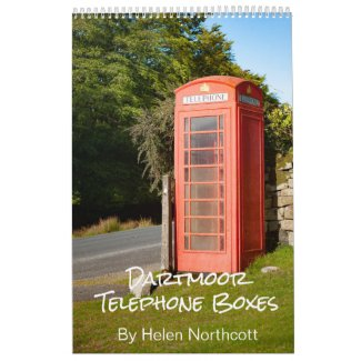 Dartmoor Telephone Boxes Calendar