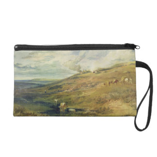 Dartmoor: The Source of the Tamar and the Torridge Wristlet Purse