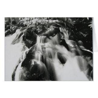 Dartmoor Waterfall Card