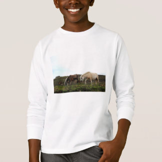 Dartmoor Wild Ponies Kids' Long Sleeved Shirt