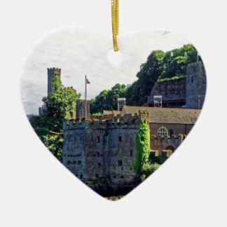 Dartmouth Castle #2, Devon, England Christmas Ornament