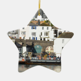 Dartmouth ferry. christmas ornament