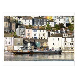 Dartmouth ferry. postcard