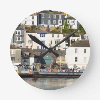 Dartmouth ferry. round clock