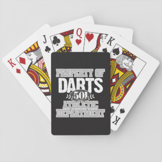 Darts Athletic Department Playing Cards