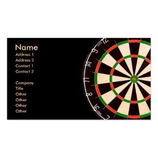 Darts Board Business Cards (pack)