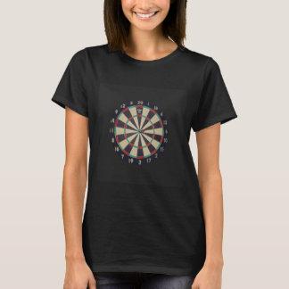 Darts,_Bull_Eye,_Ladies_Black_T-shirt T-Shirt