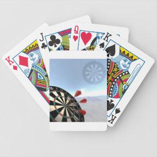 Darts Design Bicycle Playing Cards