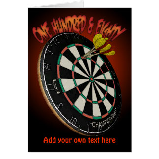 Darts Design Greetings and Notecards Card