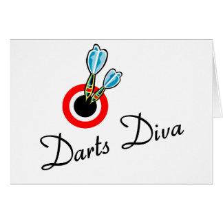 Darts Diva Card