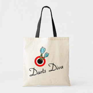 Darts Diva Tote Bag