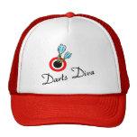 Darts Diva Trucker Hats