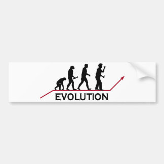 Darts Evolution Bumper Sticker