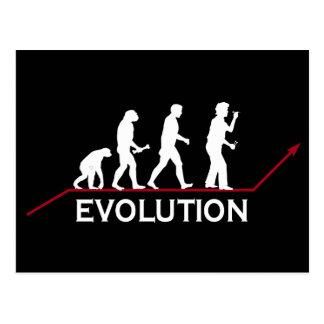 Darts Evolution Postcard