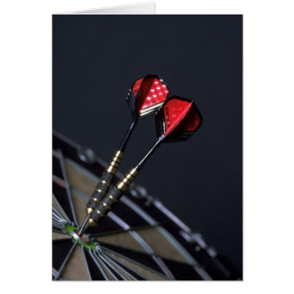 Darts Greeting Card