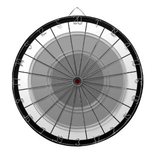 Darts Modern Grey Black Bulls' Eye Challenge Dartboard