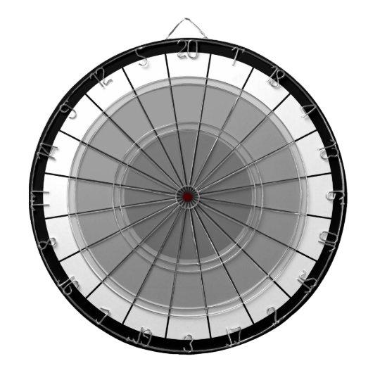 Darts Modern Grey Black Bulls' Eye Challenge Dartboard