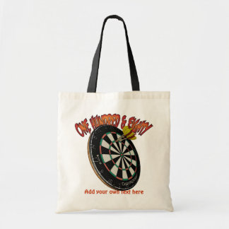 Darts Personalized Tote Bags