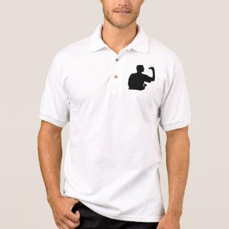 Darts player polo shirt