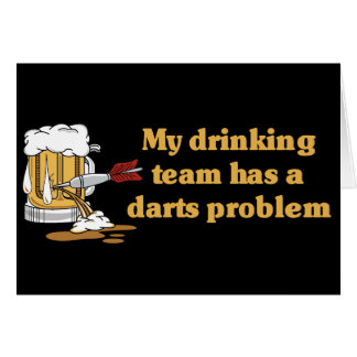 Darts Team Card