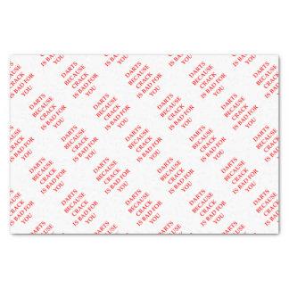 darts tissue paper