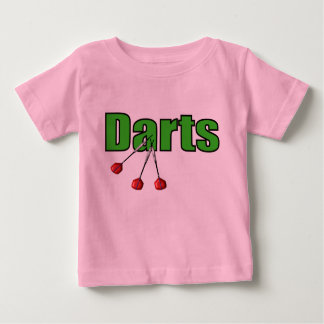 Darts with 3 Darts Baby T-Shirt