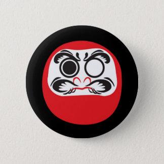 Daruma 6 Cm Round Badge