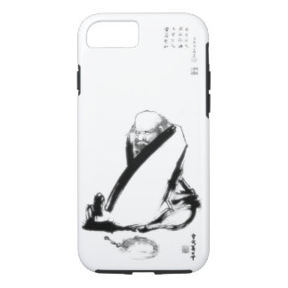 Daruma (Bodhidharma) classic zen painting iPhone 7 Case