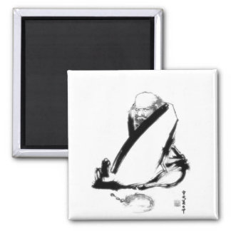 Daruma (Bodhidharma) zen painting Magnet