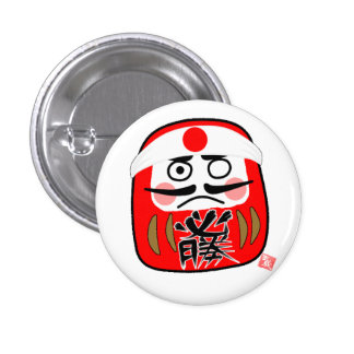 Daruma can badge (certain victory)