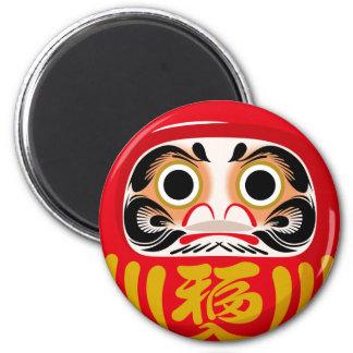 Daruma Doll 6 Cm Round Magnet