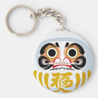 Daruma Doll Key Ring