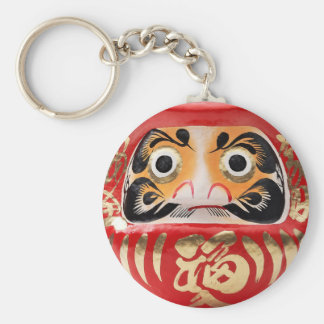 Daruma doll key ring