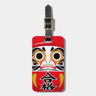 Daruma Doll Luggage Tag