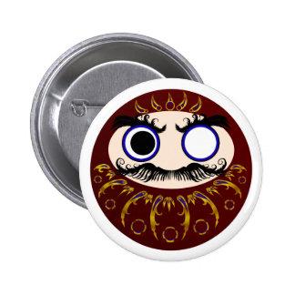 Daruma II 6 Cm Round Badge
