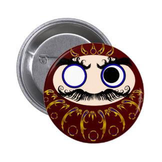 Daruma III 6 Cm Round Badge